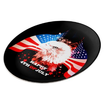 Independence Day4th of jul Dinner Plate