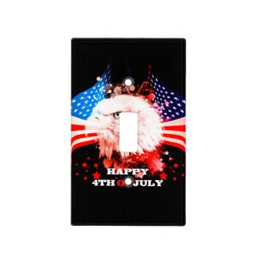 Independence Day4th of jul Light Switch Cover