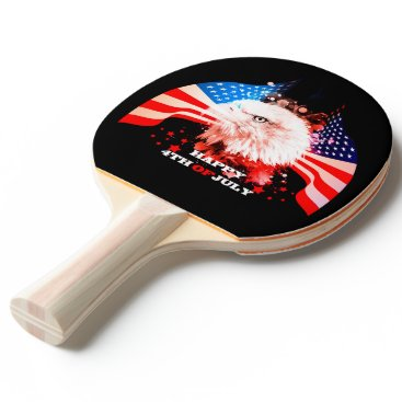 Independence Day4th of jul Ping Pong Paddle