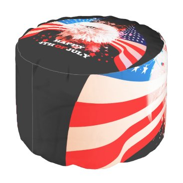 Independence Day4th of jul Pouf