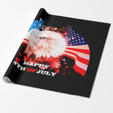 Independence Day4th of jul Wrapping Paper