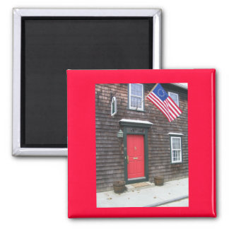 Independence Day 2 Inch Square Magnet