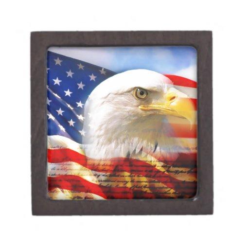 Independence Day 4 july Premium Keepsake Boxes