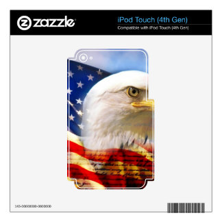 Independence Day 4 july Skin For iPod Touch 4G