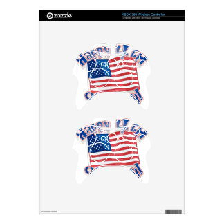Independence Day 4 july Xbox 360 Controller Decal
