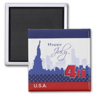 Independence Day, 4th of July Magnet