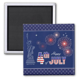 Independence Day, 4th of July Magnets