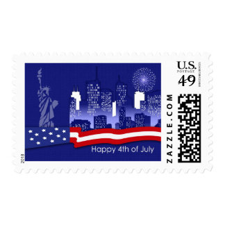 Independence Day ,4th of July Postage Stamps