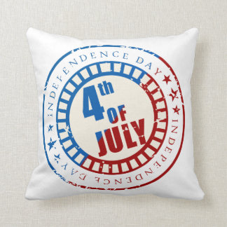 Independence Day 4th of July Throw Pillow
