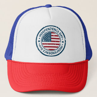 Independence Day 4th of July Trucker Hat