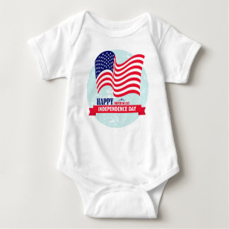 Independence-Day Baby Bodysuit