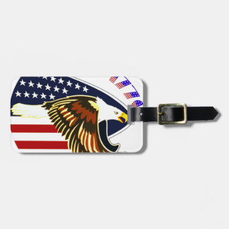 Independence Day Bag Tag