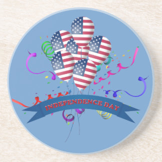 Independence Day balloons Coaster