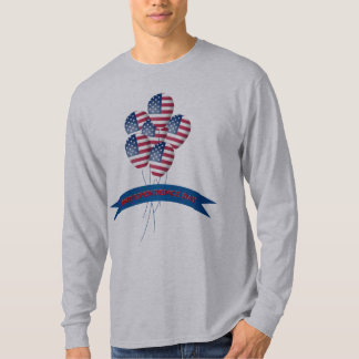 Independence Day Balloons Long Sleeve T-Shirt