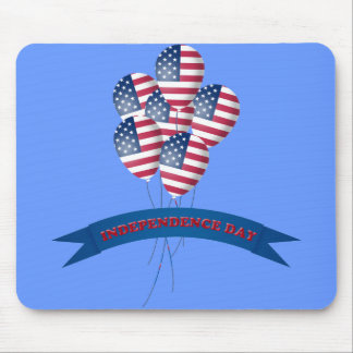 Independence Day Balloons Mousepad
