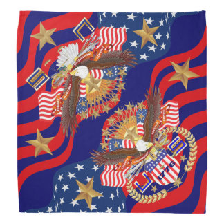 Independence Day Bandana View About Design