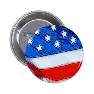 Independence Day Banner 2 Inch Round Button