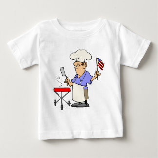Independence Day BBQ Baby T-Shirt