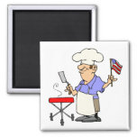 Independence Day BBQ Magnets
