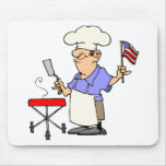 Independence Day BBQ Mousepads