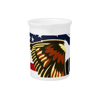 Independence Day Beverage Pitcher