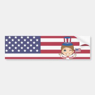 Independence Day Bumper Sticker
