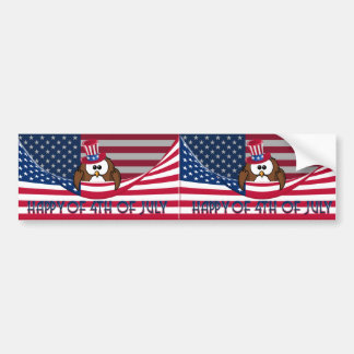 Independence Day Bumper Sticker
