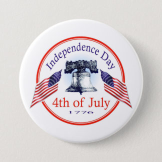Independence Day Button