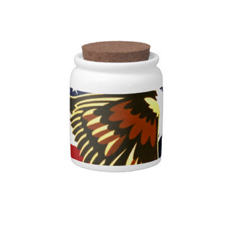 Independence Day Candy Jars