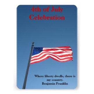 Independence Day Celebration Invitation