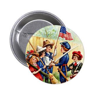 Independence Day Children Pins