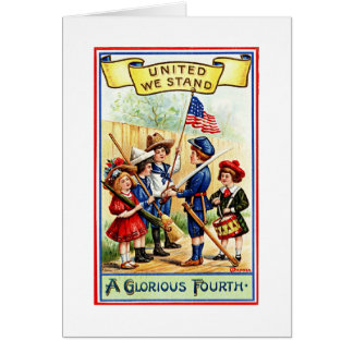 Independence Day Children Greeting Card