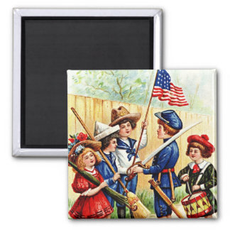 Independence Day Children Magnet