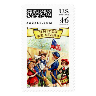 Independence Day Children Postage