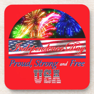 Independence Day Drink Coasters