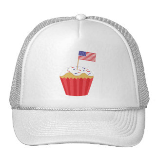 Independence Day Cupcake Trucker Hat