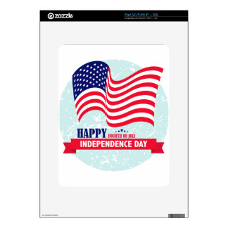 Independence-Day Decal For iPad