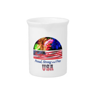Independence Day Drink Pitcher