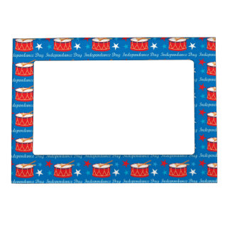 Independence Day Drums Magnetic Frame