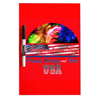 Independence Day Dry-Erase Whiteboard