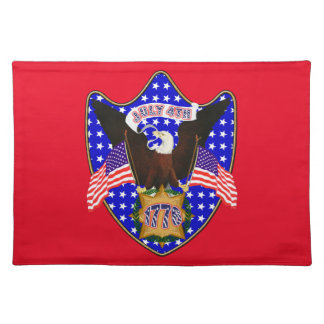 Independence Day Eagle Cloth Placemat