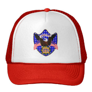 Independence Day Eagle Trucker Hat