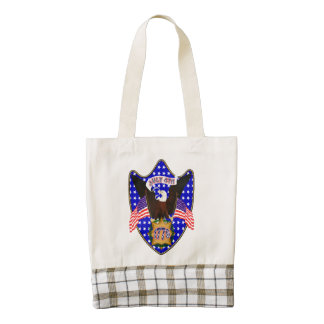 Independence Day Eagle Zazzle HEART Tote Bag