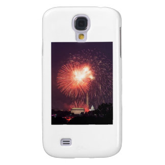 Independence Day Fireworks over Washington DC Galaxy S4 Case