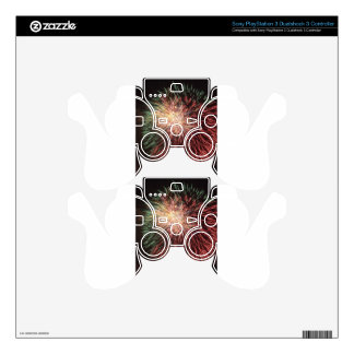 Independence Day Fireworks over Washington DC PS3 Controller Skin