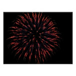Independence Day Fireworks Print