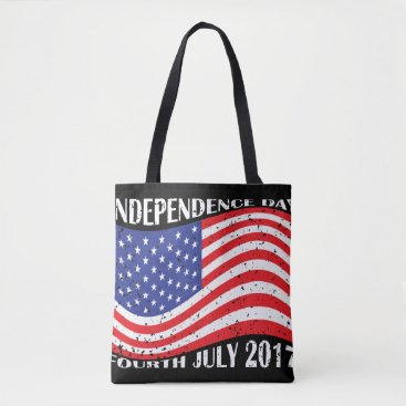 USA Themed Independence Day & Fourth July 2017 Tote Bag