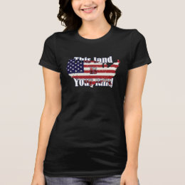 Independence Day graphic T-shirt