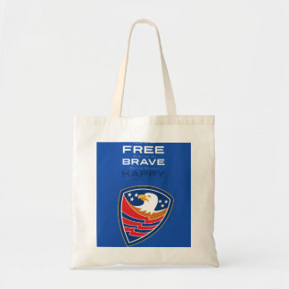 Independence Day Greeting Card American Bald Eagle Tote Bag