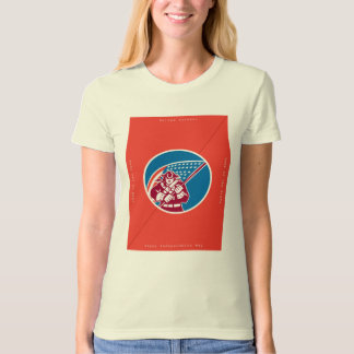 Independence Day Greeting Card-American Patriot Ho T-Shirt